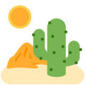 Desert on Twitter Twemoji 11.0
