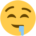 Drooling Face on Twitter Twemoji 11.0