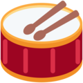 Drum on Twitter Twemoji 11.0