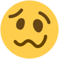 Woozy Face on Twitter Twemoji 11.0