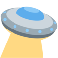 Flying Saucer on Twitter Twemoji 11.0