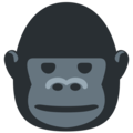 Gorilla on Twitter Twemoji 11.0