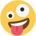 Zany Face on Twitter Twemoji 11.0
