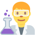 Man Scientist on Twitter Twemoji 11.0