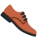 Man's Shoe on Twitter Twemoji 11.0