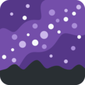 Milky Way on Twitter Twemoji 11.0