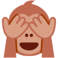 See-No-Evil Monkey on Twitter Twemoji 11.0