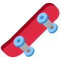 Skateboard on Twitter Twemoji 11.0