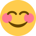 Smiling Face With Smiling Eyes on Twitter Twemoji 11.0