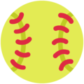 Softball on Twitter Twemoji 11.0