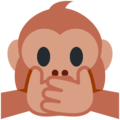 Speak-No-Evil Monkey on Twitter Twemoji 11.0