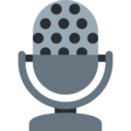 Studio Microphone on Twitter Twemoji 11.0