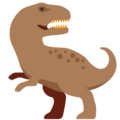 T-Rex on Twitter Twemoji 11.0