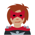 Woman Supervillain: Medium Skin Tone on Twitter Twemoji 11.0
