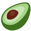 Avocado on Twitter Twemoji 11.1