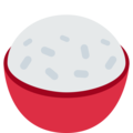 Cooked Rice on Twitter Twemoji 11.1