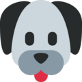 Dog Face on Twitter Twemoji 11.1