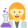 Woman Scientist on Twitter Twemoji 11.1
