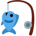 Fishing Pole on Twitter Twemoji 11.1