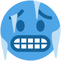 Cold Face on Twitter Twemoji 11.1