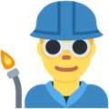 Man Factory Worker on Twitter Twemoji 11.1