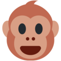 Monkey Face on Twitter Twemoji 11.1