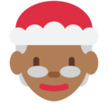 Mrs. Claus: Medium-Dark Skin Tone on Twitter Twemoji 11.1