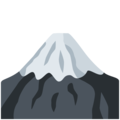 Mount Fuji on Twitter Twemoji 11.1