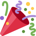 Party Popper on Twitter Twemoji 11.1