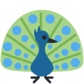 Peacock on Twitter Twemoji 11.1