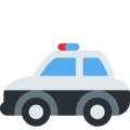 Police Car on Twitter Twemoji 11.1