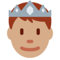 Prince: Medium Skin Tone on Twitter Twemoji 11.1