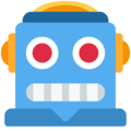 Robot Face on Twitter Twemoji 11.1