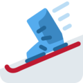 Skis on Twitter Twemoji 11.1