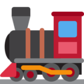 Locomotive on Twitter Twemoji 11.1