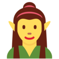 Woman Elf on Twitter Twemoji 11.1