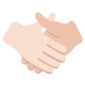 Handshake, Type-1-2 on Twitter Twemoji 2.2.1