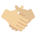 Handshake, Type-3 on Twitter Twemoji 2.2.1