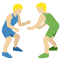 Men Wrestling, Type-3 on Twitter Twemoji 2.2.1