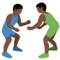 Wrestlers, Type-6 on Twitter Twemoji 2.2.1