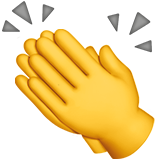 Clapping Hands on Apple iOS 11.2