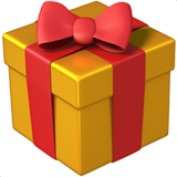 Wrapped Gift on Apple iOS 11.2