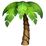 Palm Tree on Apple iOS 11.3