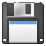 Floppy Disk on Apple iOS 6.0