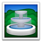 Fountain on Apple iOS 6.0