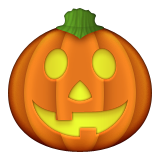 Jack-O-Lantern on Apple iOS 6.0