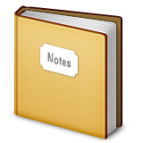 Notebook With Decorative Cover on Apple iOS 6.0