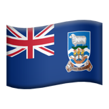 Falkland Islands on Apple iOS 9.0