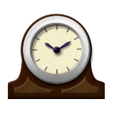 Mantelpiece Clock on Apple iOS 9.1