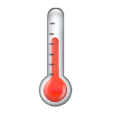 Thermometer on Apple iOS 9.1